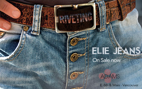 Riveted jeans ad