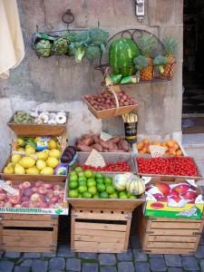 Geneva fruit stand